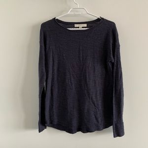 Loft Dark Blue Long Sleeve